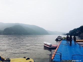 morning at cheongpyeong lake