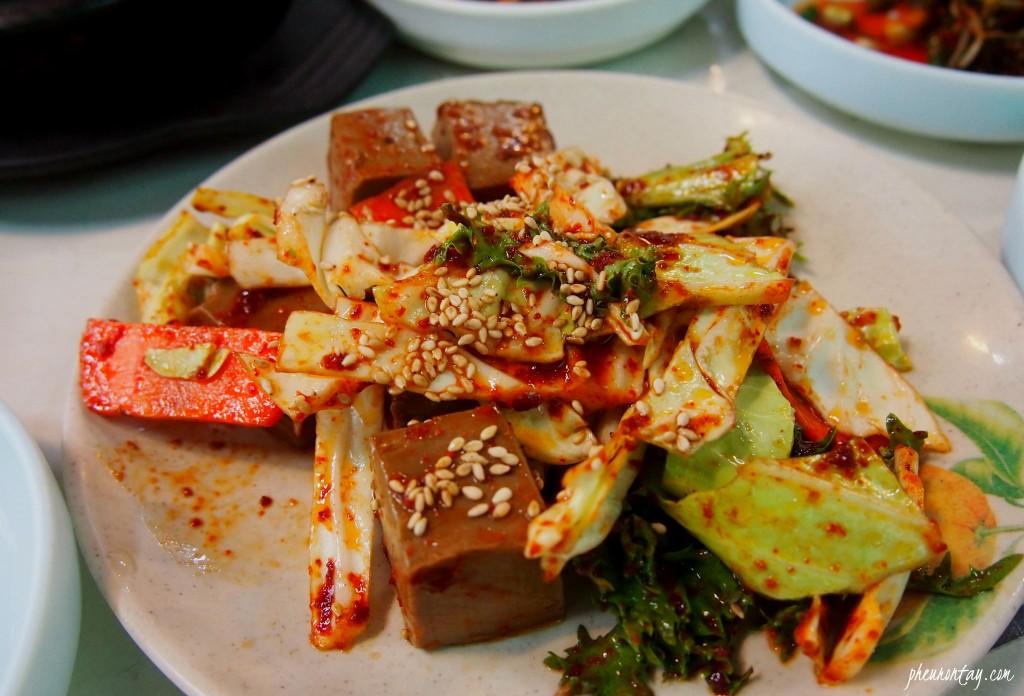 선암식당 산채정식