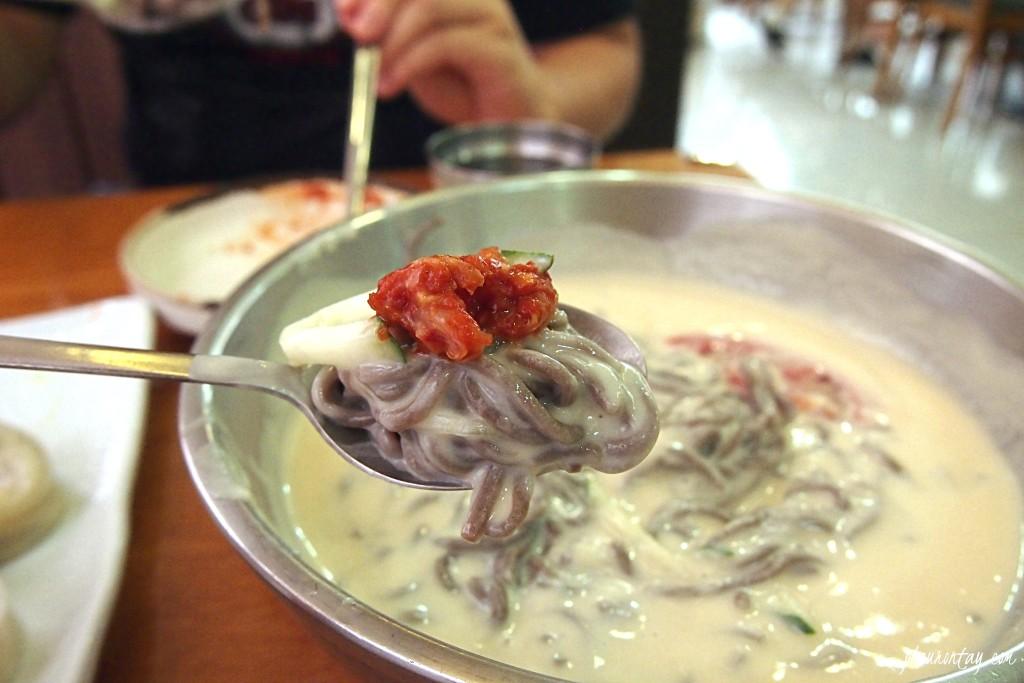 matjarang kongguksu, soybean broth cold noodles 대치동 맛자랑