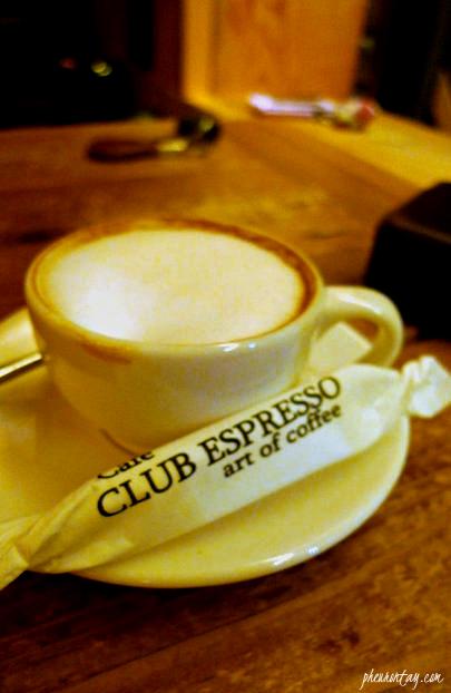 cappucino club espresso buamdong