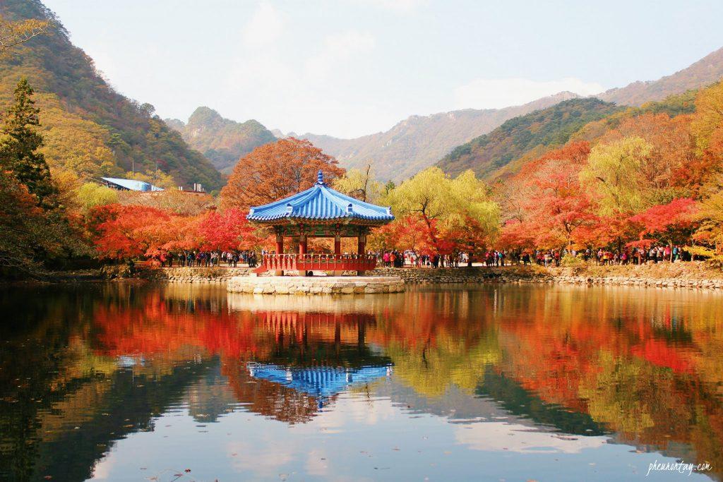 Naejangsan Uhwajeong Pavilion